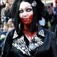 gothic zombie girl