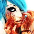 hot zombie girl - bloody zombie girl