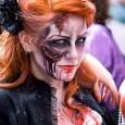 sexy zombie redhead