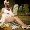 Zombie Sexy Pinup Zombabe Girl 9