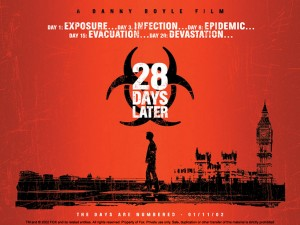 28 Days later movie zombie wallpaper