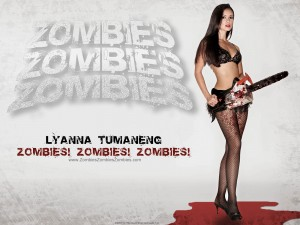 Zombies Zombies Zombies Sexy Zombie Wallpaper
