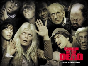 shaun of the dead Zombie Wallpaper