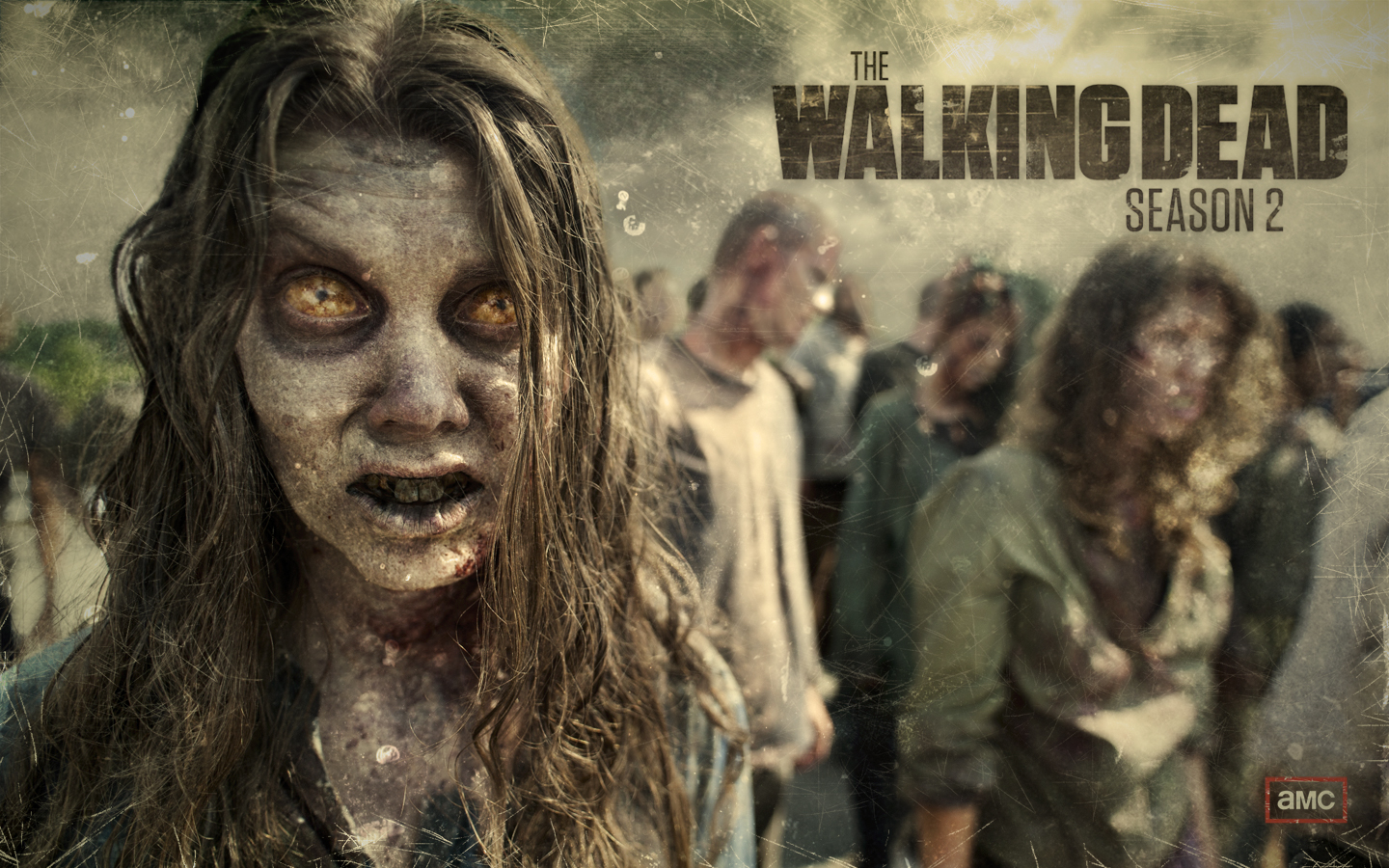 The Walking Dead Season 2 Zombie Wallpaper