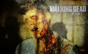 The Walking Dead Season 3 Wallpaper | Zombie 1 Background