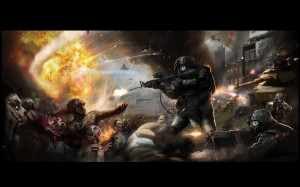 Battle of Yonkers Concept Art Zombie Wallpaper