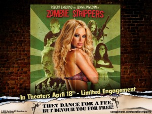 zombie strippers sexy zombie wallpaper with jenna jameson