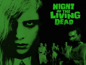 Night of the Living Dead Zombie Wallpaper