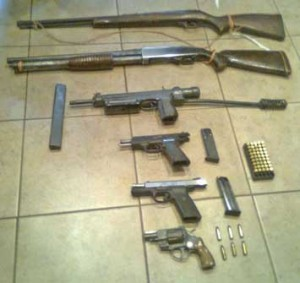 zombie-weapons-rifle-shotgun-handguns