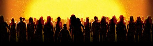 dawn of the dead zombie silhouettes