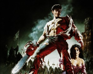 chainsaw hand for zombie killing weapons in army of darkness