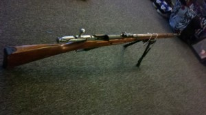 mosin nagant rifle for zombie killing weapons