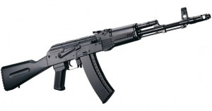 AK74 Kalashnikov Assault Rifle Gun