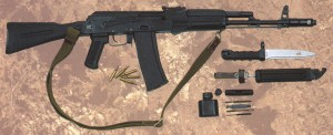 AK101 Kalashnikov Assault Rifle Gun