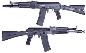 AK102 Kalashnikov Assault Rifle Gun