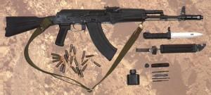 AK103 Kalashnikov Assault Rifle Gun