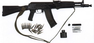 AK105 Kalashnikov Assault Rifle Gun