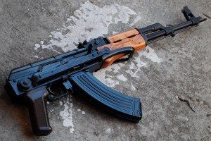 AK74 Kalashnikov Assault Rifle Gun Wallpaper