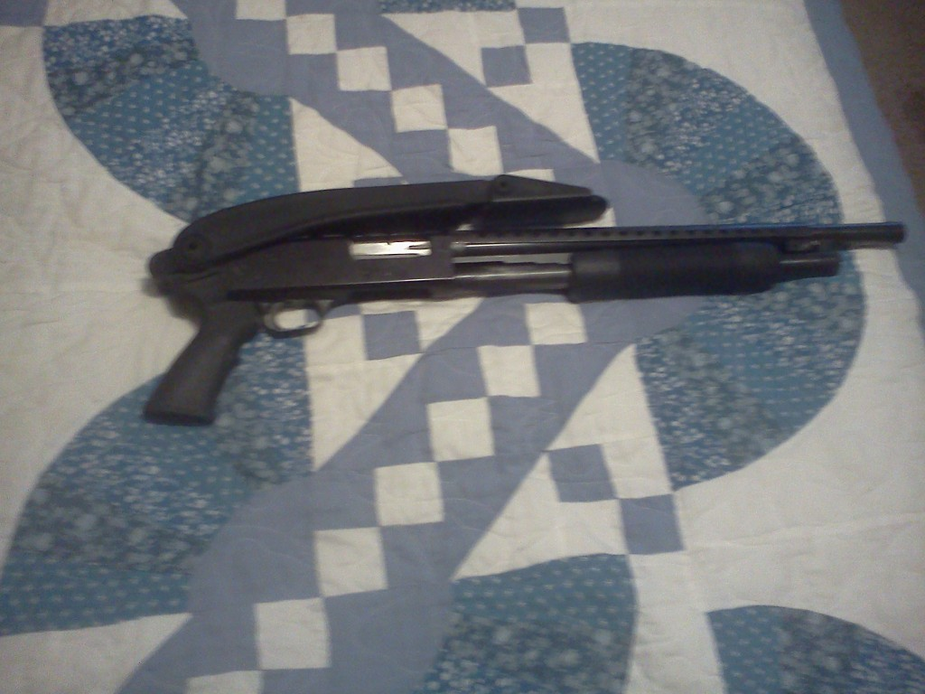 mossberg shotgun 12 gauge zombie killing weapon