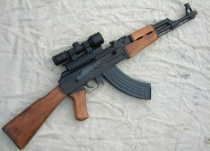 AK-47 - Zombie Weapon Long Range 5