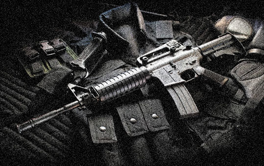Long-Range-Zombie-Killling-Weapons-M4-Carbine