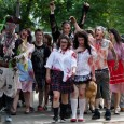 zombie horde walking