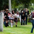 zombies chasing zombie survivor girl