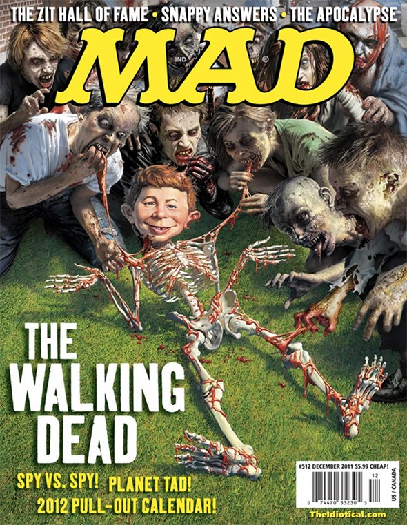 The Walking Dead MAD Magazine