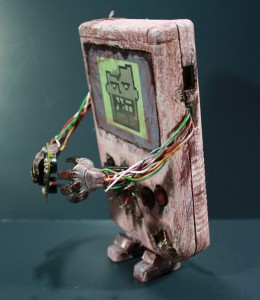 Zombie Gameboy Art Side