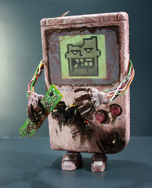 Zombie Gameboy Art