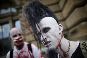 zombie walk parade frankfurt germany 5