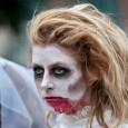 zombie walk zombie girl