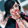 zombie walk sexy zombie girl