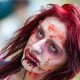 zombie walk zombie girl scary
