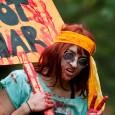 zombie hippie protestor