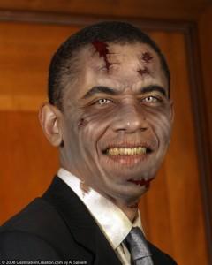 zombie president obama zombie walking dead