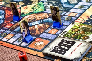 the walking dead board game zoom details
