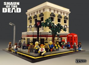 Shaun of the Dead Legos 2