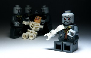 lego zombies surrounding girl 2