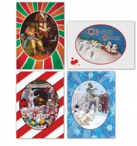 zombie christmas cards