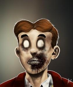 Zombie Archie Portrait
