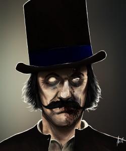 Zombie Butcher Portrait