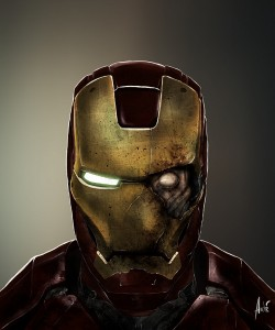 Zombie Iron Man Portrait