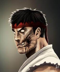 Zombie Ryu Portrait