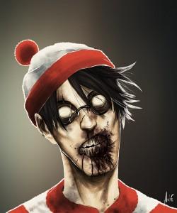Zombie Waldo Portrait