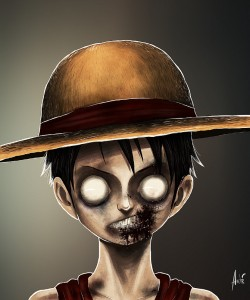 Zombie Luffy Portrait
