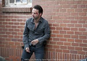 The Walking Dead Rick has no confidence