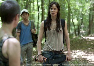 The Walking Dead Lori, Rick's wife not good looking