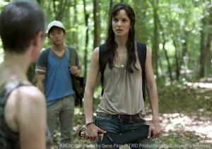The Walking Dead Lori, Rick's wife not good looking