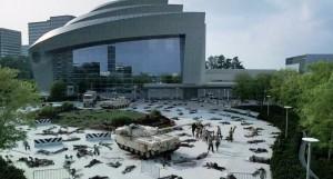The Walking Dead cdc location guns